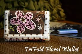 trifold wallet free sewing pattern