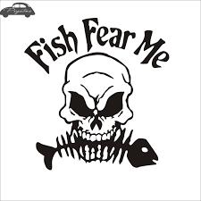 Women Want Me Fish Fear Me Fishing Humor Vinyl Decal Sticker Car Window Dekoracje A2btravel Ge