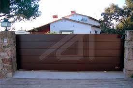 Sliding Gate Angel Mir Portes Bisbal Steel Panel Home