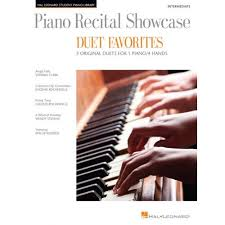 HAL LEONARD RECITAL SHOWCASE DUET FAVES - PIANO DUET - Woodbrass.com