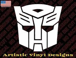 Transformers Autobot Decal Sticker For Wall Car Laptop Etc 1 19 Picclick