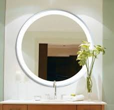 bathroom led backlight mirror