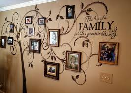 Wall Art X Tree Of Life Family Grey Background With Independence