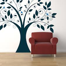 Cute Tree Giant Wall Decals Trading Phrases