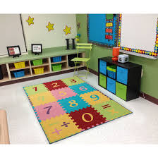 Shop Ottomanson Multicolor Numbers Design Children Kid S Play Area Rug 3 X 5 3 3 X 5 On Sale Overstock 18250080