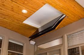 folding ceiling tv mount cool patio