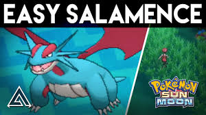 Pokemon Sun and Moon | How to Get Salamence Easily on the First ...