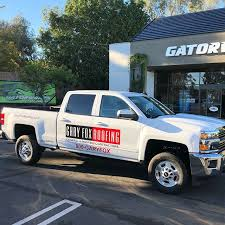 Decal Kit On Chevy Silverado For Gary Fox Roofing Gator Wraps
