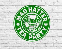 Mad Hatter Decal Etsy