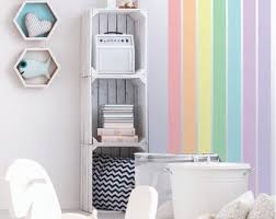 Stripe Wall Decal Etsy
