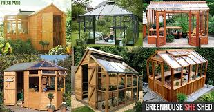 greenhouse she shed 22 awesome diy