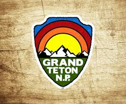 Grand Teton National Park Decal Sticker Wyoming Tetons Etsy
