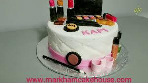 makeup set cake you