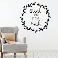 Religious Gift Christian Wall Vinyl Decor Wall Decal Customvinyldecor Com