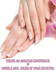 mobile nail salon nyc ny nails envie