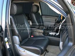 toyota sequoia leather interiors