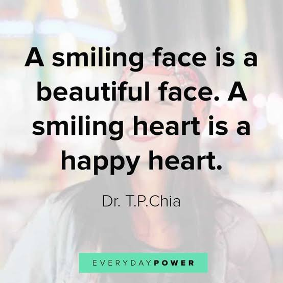 Image result for quotes on smiling""