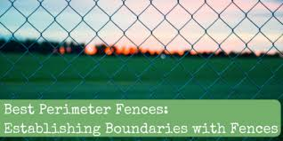Best Perimeter Fences Establishing Boundaries With Fences Backdoor Survival