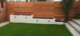 Contemporary Fencing Abel Landscaping
