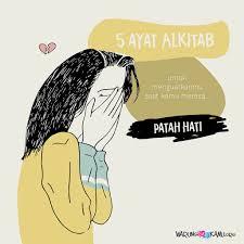 """ayat alkitab yang menguatkanmu saat kamu merasa """"patah hati"""