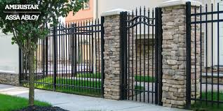 Classic Wrought Iron Front Yard Fence And Gate Classic Fence Front Yard Fence Modern Fence Design