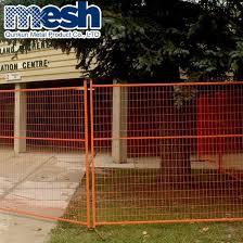 China Canada Construction Fence Panels Temporary Fence Hot Sale China Pvc Coated Canada Temporary Fence Factory Direct Canada Temporary Security Fence