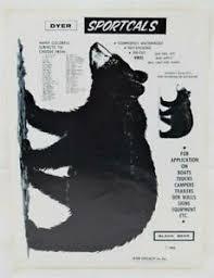 Nos Dyer Sportcals Die Cut Vinyl Waterproof Decal Sticker Black Bear T 30 Ebay