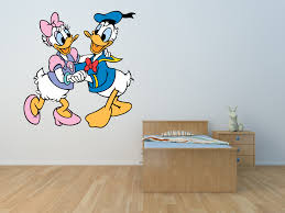 Daisy And Donald Duck Disney Wall Art Stickers Murals Decals P11 Ladybug Print