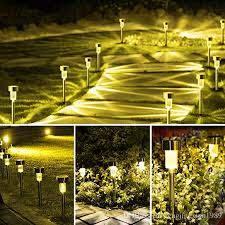 2020 outdoor solar lights solar pathway