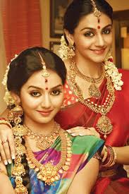 south indian bridal makeup with