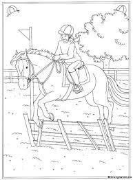 Pin Van Elsie Poser Op Malebog Pige Kleurplaten Paarden En Leer
