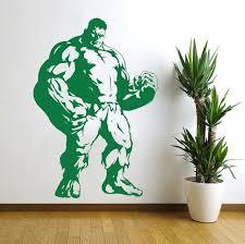 Incredible Hulk Marvel Hero Wall Decal Vinyl By Vinylwallartworks 20 99 Incredible Hulk The Incredibles Vinyl Wall Decals