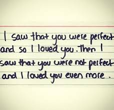 imperfect love quotes quotesgram