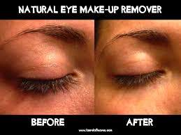 removing eye makeup with olive oil