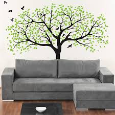 Large White Tree Wall Decal Nursery Wall Sticker Tree And Birds Art Baby Kids Room Wall Stickers Home Decor Mural 210 213cm D472 Sticker Tree Wall Sticker Treewhite Tree Aliexpress