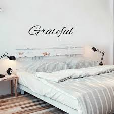 Vinyl Wall Art Decal Grateful Vinyl Lettering Words Abstract Wall Art 6 X40 For Sale Online