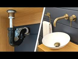 bathroom sink plumbing installation