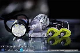 Combo Trọn Bộ Đèn LED Xe Máy Cực Chất Cho Biker
