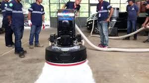 planetary self propelled concrete floor
