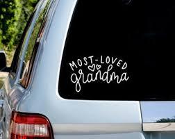 Granny Decal Etsy