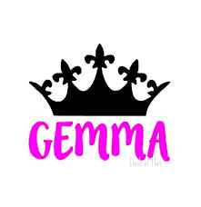 Custom Name Decal Princess Decal Yeti Cup Decal Water Bottle Decal Crown Decal Gift For Her Valentines Princess Decal Decals For Yeti Cups Bottle Decals
