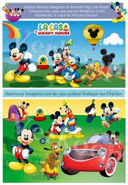 Kit Imprimible La Casa D Mickey Mouse Personaliza Fiesta 750