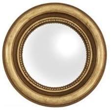 gold round mirror eichholtz verso xs