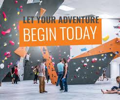 adventure hq rock climbing gym