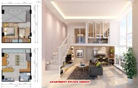studio apartment design plans pictures