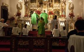 Traditional Latin Mass at Our Lady of Czestochowa in Turners Falls Massachusetts - Priestly Fraternity of St. Peter