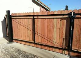 Wood Fence Contractor Wood Gate Installer Fence Granite Bay Redwood Fence Wood Gates