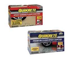 quikrete garage floor colors