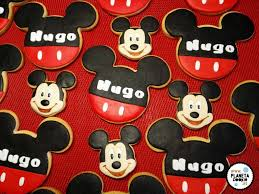 Cumpleanos Mickey Mouse Planeta Cookie