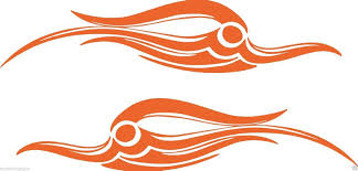2 Vinyl Vehicle Graphics Decals Tribal 4 Bird Custom Auto Truck As Appealing Signs